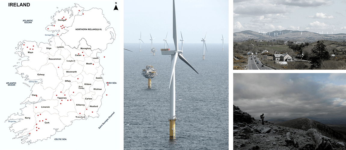 MosArt have completed landscape and Visual Impact Assessments for over 50 wind farm projects both onshore and offshore.